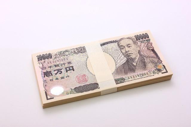 手付金100万円