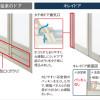 お風呂(浴室)のドアは、リクシル標準仕様の折り戸に決定。