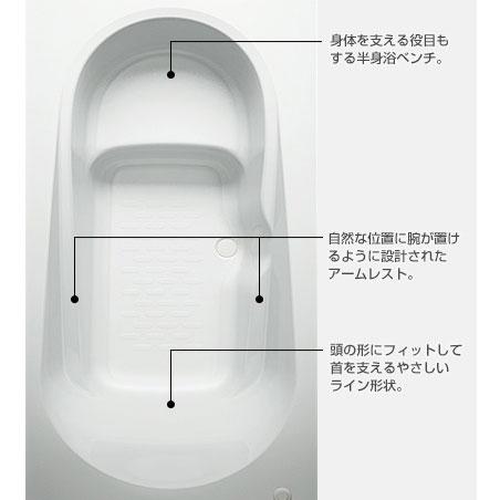 リクシル エコベンチ浴槽