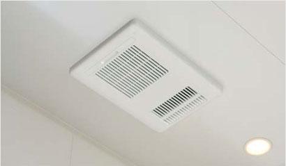 リクシルの換気乾燥暖房機