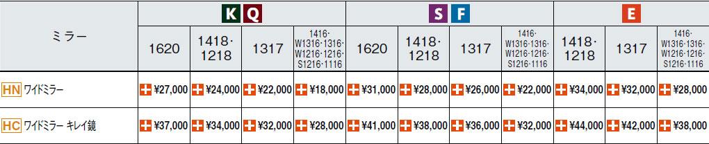 リクシル リノビオV ワイドミラー追加料金