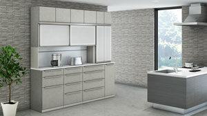 綾野製作所のキッチンボード(食器棚)