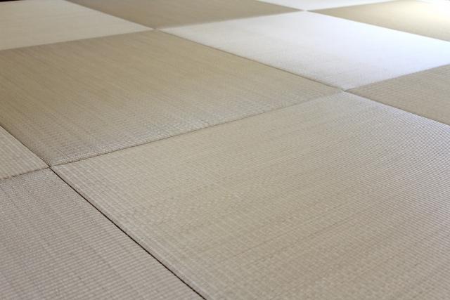 半畳縁なし 琉球畳風