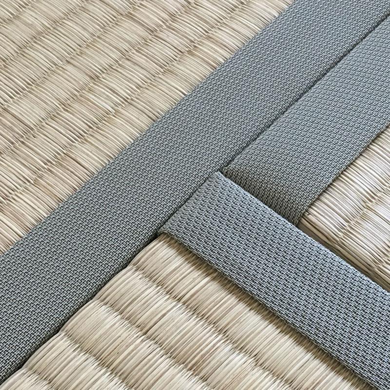 畳表と畳縁の質感