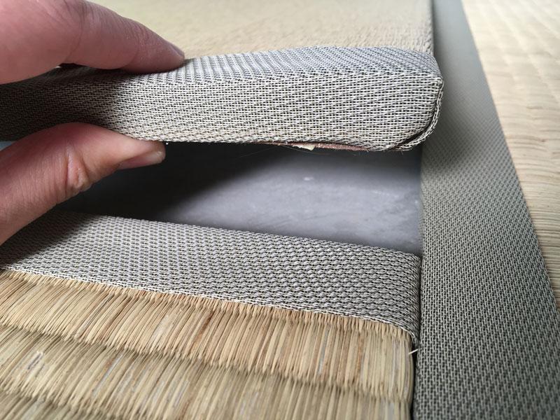 薄畳の厚さ