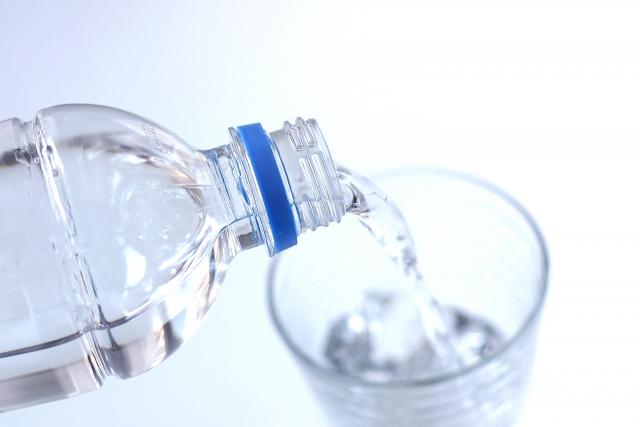 ペットボトル入り水道水