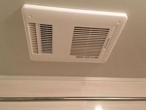 音の侵入経路となる浴室の換気扇